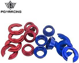 BUSHING COLLARS SET For Nissan S13 / S14 / Z32 Subframe Bushing Collars PQY9809 (Blue)