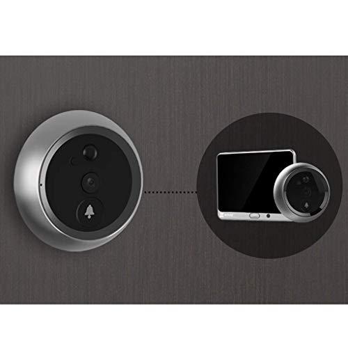 Yuany camera, intelligente elektronische kat oog camera visuele deurbel anti-diefstal thuis deur spiegel - 32GB