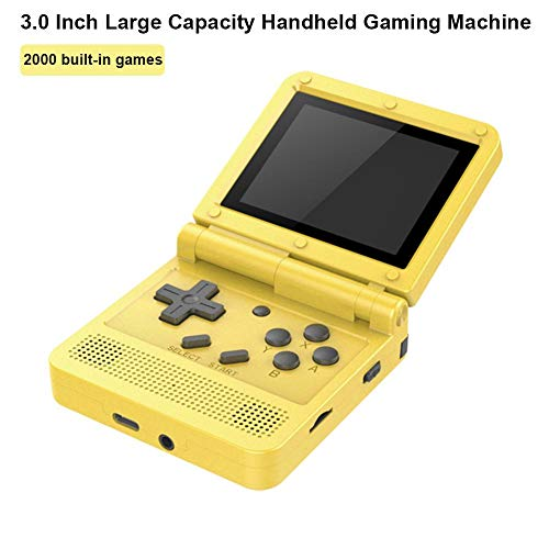 Handheld Game Console, V90 Classic Games 3.0 Inch 1020mAh HD LCD Screen Portable Video Game, Retro Game Console 2000 Classical Games, Best Gift for Children and Adults, Gifts.