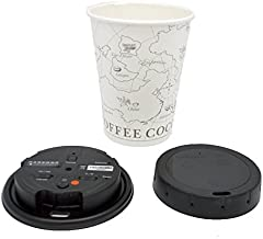 LawMate PV-CC10W 1080P Covert Coffee Cup Lid Camera DVR with WiFi with 32GB Micro SD Card