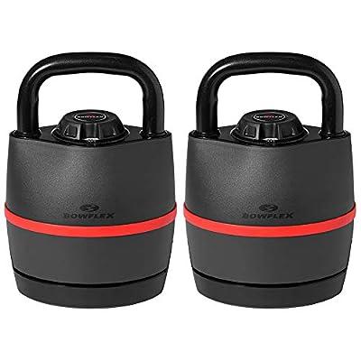 Bowflex 100790 SelectTech 840 Kettlebell Adjusts from 8-40 lbs 2 Pack by Bowflex