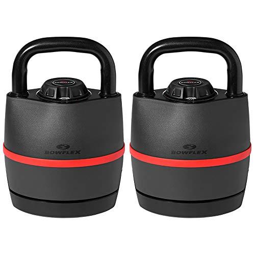 Bowflex 100790 SelectTech 840 Kettlebell Adjusts from 8-40 lbs 2 Pack