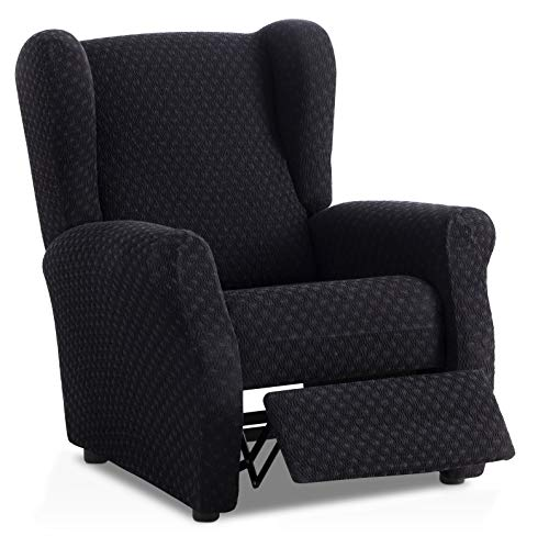 Bartali Stretch Sesselhusse Relax Olivia - Farbe Schwarz - Standard Maß (Kontaktieren Sie Uns für weitere Informationen)
