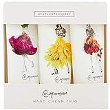 Heathcote & Ivory Meredith Wing Crema de manos Trio Caja de regalo Tamaño de viaje, 3 x 30 ml