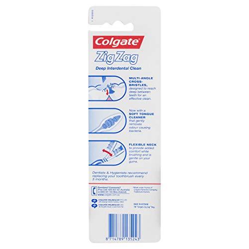 Colgate Zigzag Toothbrush, Pack of 3