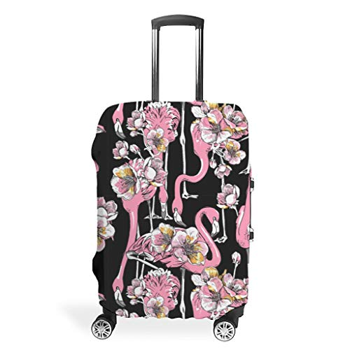 Travel Luggage Suitcase Cover - Stylish 4 Sizes Fit Protective Suitcase, White (White) - Twelve constellations-XLXT