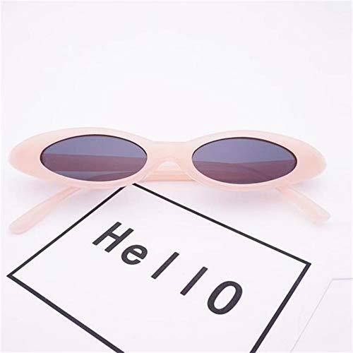 MOJINGYAN Sonnenbrillen Rosa Kleine Ovale Sonnenbrille Weiblichen Retro Cat Augen Transparente Abdeckscheiben Damen Sonnenbrille Brillen Gläser Sonnenbrillen Für Männer