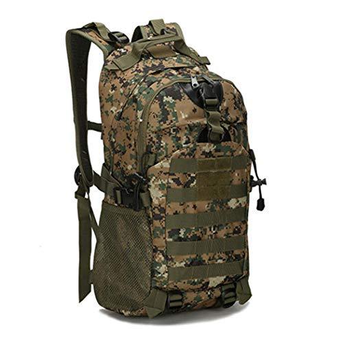 Mochila táctica de 30 l, bolsa de ejército militar Oxford, para acampar, para hombres, ciclismo, senderismo, deportes al aire libre, escalada, Hombre, 3 (Reino Unido), as picture