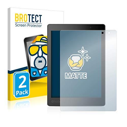 BROTECT 2X Entspiegelungs-Schutzfolie kompatibel mit Kobo Aura One Displayschutz-Folie Matt, Anti-Reflex, Anti-Fingerprint