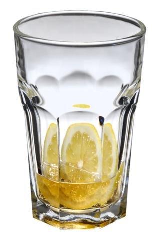 Set di pz Luminarc 'Lisboa' 340,2gram trasparente Beverage, whisky, scotch, bicchieri da cocktail (340,2gram), Vetro, Yellow, 10 Oz