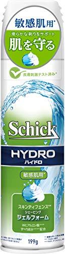 シック Schick ハイドロ スキンディフェンス シェービングジェルフォーム 199g