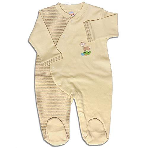 Mama Ocllo - Baby Schlafanzug, Strampler, Bio Pima Baumwolle, Babyshower, Erstlingsstrampler