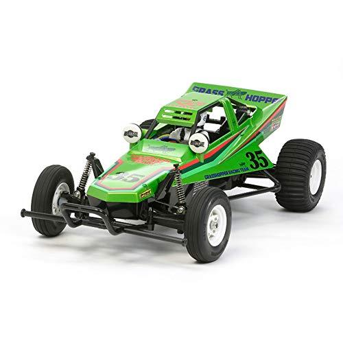 TAMIYA 300047348 1:10 The Grasshopper 2005 Candy Green, ferngesteuertes Auto, RC Fahrzeug, Modellbau, Bausatz zum Zusammenbauen, Hobby, Basteln