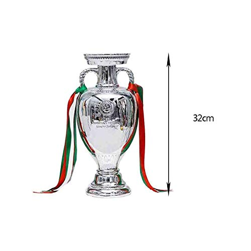 Europa Trofeo Resina Fanático del fútbol Recuerdo artesanía galvanoplastia Modelo Copa de Partido de fútbol Réplica de fútbol Los fanáticos del Regalo se Pueden personalizar-2016