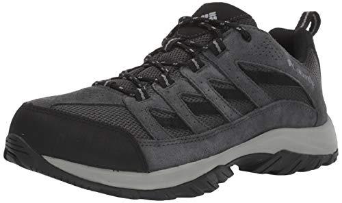 Columbia Men's Crestwood Wide Hiking Shoe, Shark, Grey, 10 Regular US