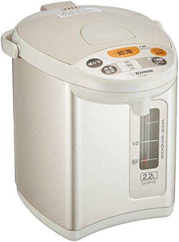 象印 電気ポット 2.2L グレー CD-WY22-HA