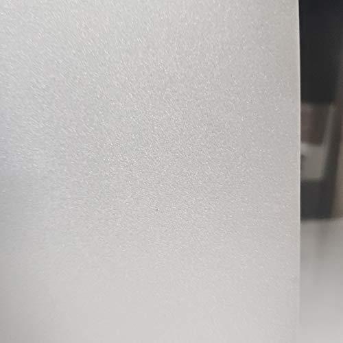 LMKJ Película para Ventanas de Mantenimiento Fresco estática, Etiqueta de Vidrio Decorativa de protección de privacidad esmerilada Blanca, Utilizada para películas para Puertas y Ventanas A2 50x200cm