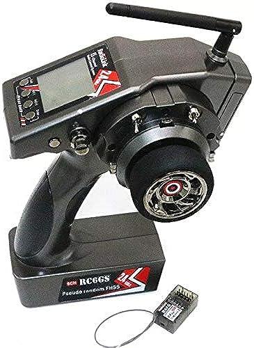 DishyKooker RadioLink RC6GS 2.4G 6CH Contrôleur de Voiture émetteur + récepteur Gyro R6FG pour RC Bateau Véhicules Miniatures Aviation Drones