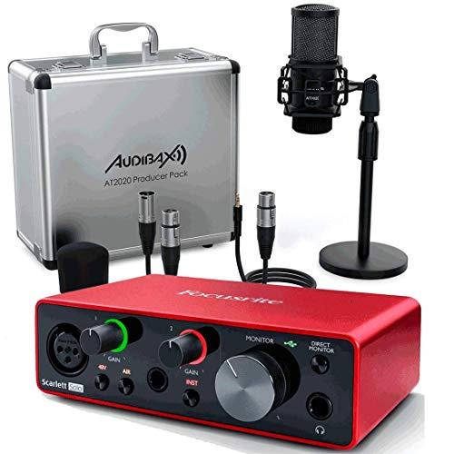 Focusrite Scarlett Solo 3ª Gen Interface Audio + Studio Pack Producer...