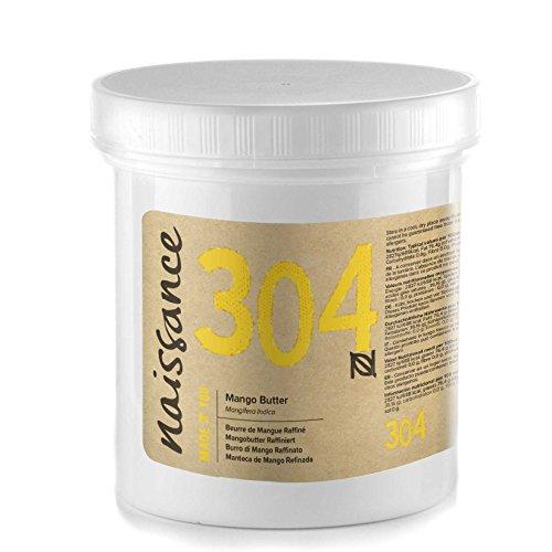 Naissance Burro di Mango Raffinato - Naturale al 100%, Vegano, senza OGM - 250g