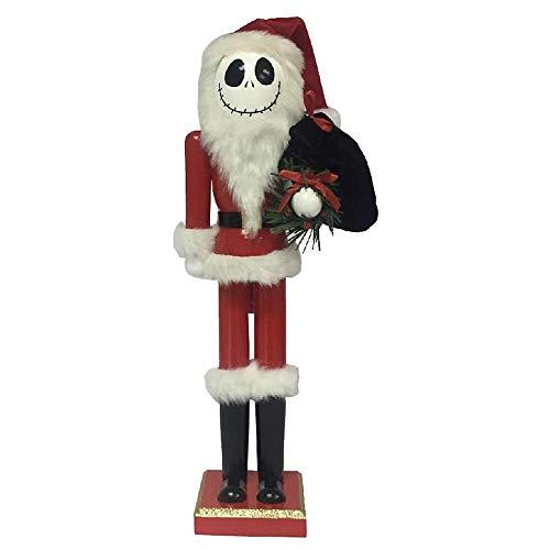 Nightmare Before Christmas The Jack Skellington in Santa Suit Nutcracker