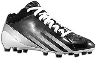adidas New Adizero 5 Star Mid Mens 11 Football Molded Cleats Black/White/Yellow