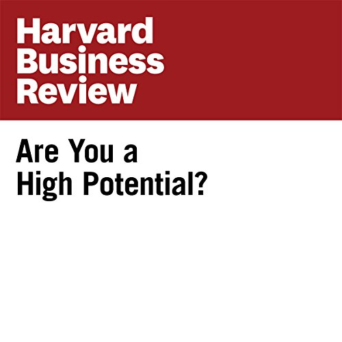 Are You a High Potential? (Harvard Business Review) audiobook cover art