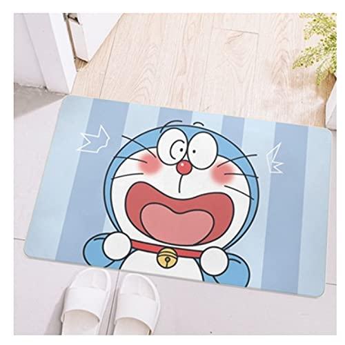 Maize store Alfombras Sala De Estar Dormitorio De Los Niños Dibujos Animados Doraemon Alfombra De Piso Rectángulo Juego De Niños Baño Guardería Cocina Decoración del Hogar Gran Rastreo De Bebé