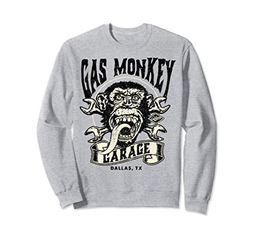 Gas Monkey Garage Tattoo Style Logo Sweatshirt