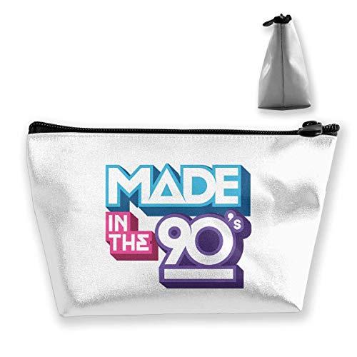 Trapezförmige Kosmetiktaschen Make-up-Kulturbeutel HERGESTELLT IN DEN 90er Jahren Reiseaufbewahrungstasche Telefon Geldbörse Tragbar 3998