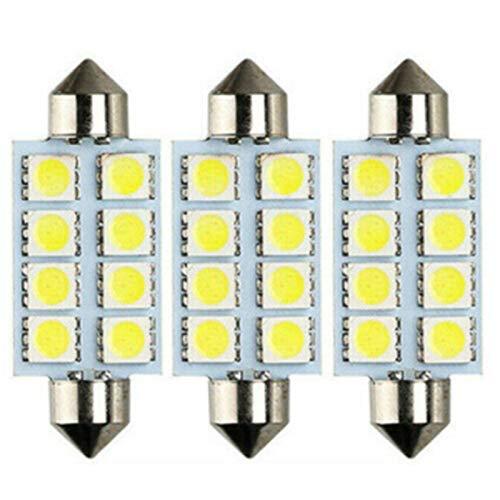 SHP Shping Bright Tailight Parts Xenon Reemplazo Blanco LED Light 12SMD