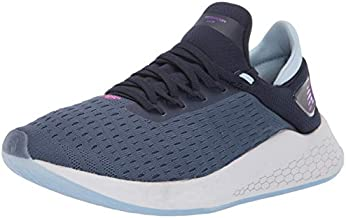 New Balance Men's Fresh Foam Lazr V2 HypoKnit Running Shoe, Vintage Indigo/Pigment, 14 W US