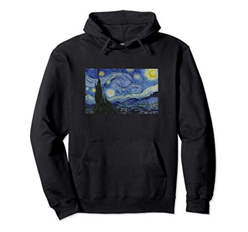 Quadro Vincent van Gogh notte Stellata Quadro Moderno Fun Felpa con Cappuccio
