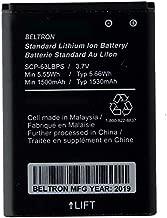 New BELTRON SCP-63LBPS 1530 mAh Replacement Battery for Kyocera DuraXA E4510, DuraXE E4710, DuraXV E4520, DuraXTP E4281 (BLT-SCP63LBPS)