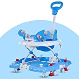 Baybee Cheezy Baby Walker Cum Rocker - Round Kids Walker for Babies Cycle with Music & Light Rattles...