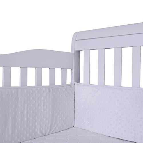 Spjälsängsskydd, sängstötfångare för småbarn skydd för babysäng
