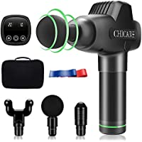 Chicare Percussion Massage Gun with 20 Ajustable Speed for Workout & Home