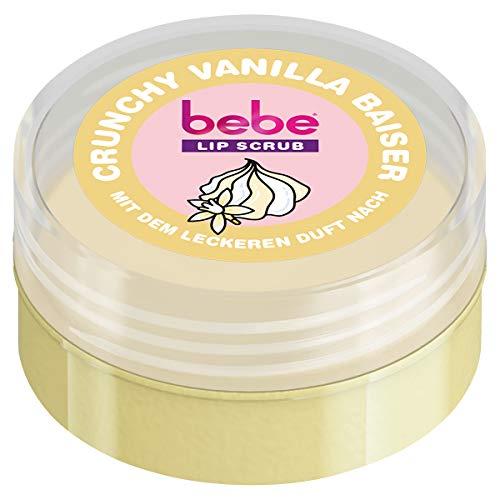 bebe Lip Scrub Crunchy Vanilla Baiser, 22 g