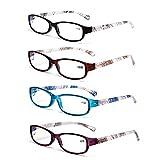 LianSan Vintage klassisch Lesebrille 1,0 1,5 2,0 2,5 3,0 3,5 4,0 Herren Blaulichtfilter Brille Damen Blaulichtbrille