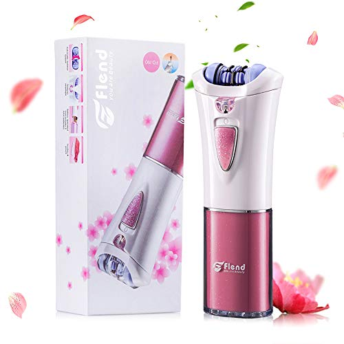 Flend Cordless Lady Epilator, Electric Hair Removal, Women's Epilator, Full Body Hair Shaver Bikini Trimmer