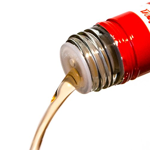 Cap-On Verschließbarer Flaschen-Ausgießer (10 Stück) für Spirituosen, Schnaps UVM. - durch Wiederverschließbarkeit vorbeugend gegen Alkohol-Verdunstung, Fruchtfliegen, Staub etc.