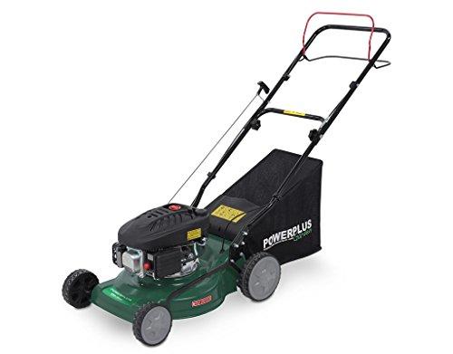 Powerplus POW63771 Walk behind lawn mower Gasolina cortadora de césped - Cortacésped (Walk behind lawn mower, 41 cm, 2,5 cm, 7,5 cm, Cuchillas giratorias, 0,8 L)