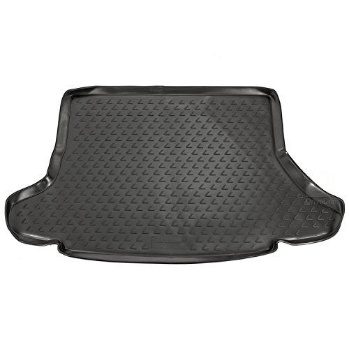 Novline MAT156 op maat gemaakte pasvorm zwart rubberen laarsvoering mat (zonder subwoofer in laars)