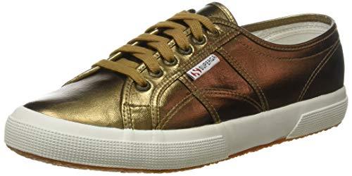 Superga Unisex 2750 Cotmetu Sneaker, Gold (Bronze), 37.5 EU