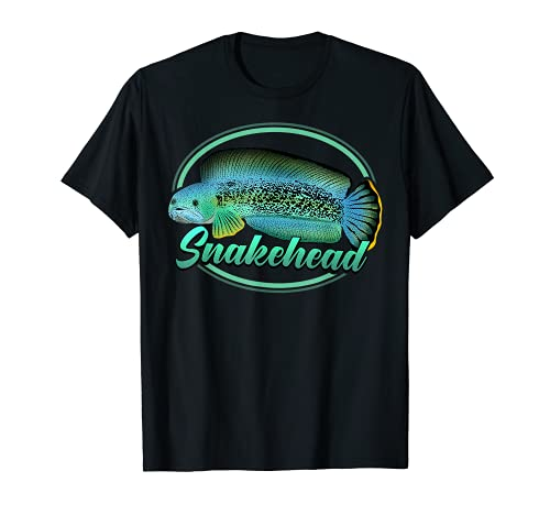 Channa Schlangenkopf Snakehead Aquarium Aquarianer Geschenk T-Shirt