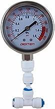 DIGITEN Water Pressure Gauge Meter 0-1.6MPa 0-220psi 1/4
