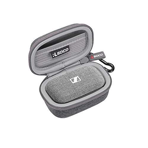 RLSOCO Carrying case for Sennheiser Momentum True Wireless 2 Bluetooth Earbuds (Gray)