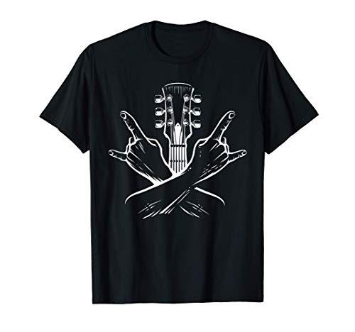 E-Gitarre Gitarrist Shirt Heavy Metal Rock Band Fan Geschenk T-Shirt