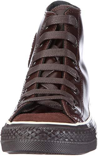 Converse CT AS HI Leather chocolate AQ564, Unisex - Erwachsene, Sneaker, Braun (chocolate), EU 36.5 (US 4)