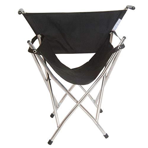 Haute qualité, fabriqué et de siège pliable Noir-Idéal pour les Concerts en plein air, Point-To-Point course, les pique-niques et autres évènements.